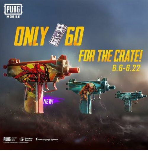 UZI SKINS TO UNLEASH THE MONSTER WITHIN