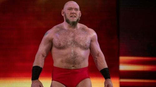 Lars Sullivan is on the SmackDown Live brand