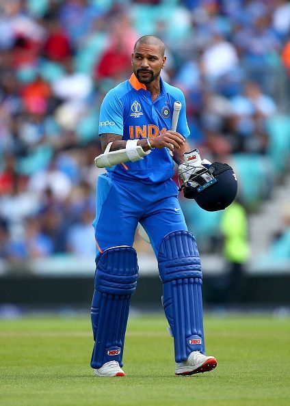 Dhawan has had a gem of an ICC outing in the past years