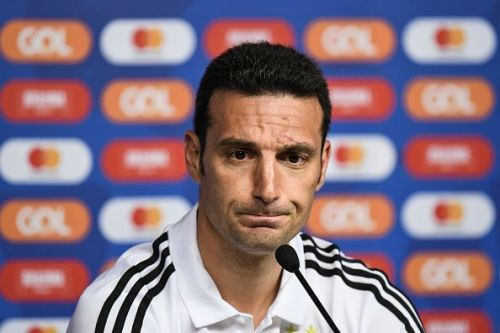 Scaloni is an inexperienced coach