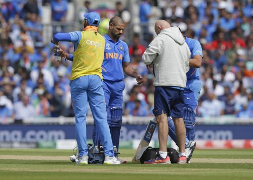 Shikhar Dhawan Ruled-out of Remaining world cup Matches