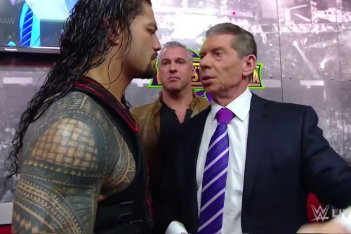 Shane McMahon became the first man to defeat Roman Reigns on a pay-per-view since July 15, 2018!