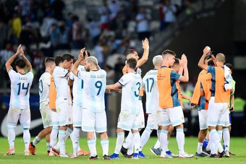 Argentina played out a 1-1 draw with Paraguay