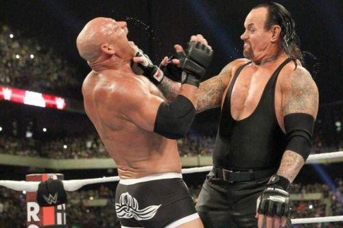 Undertaker vs. Goldberg