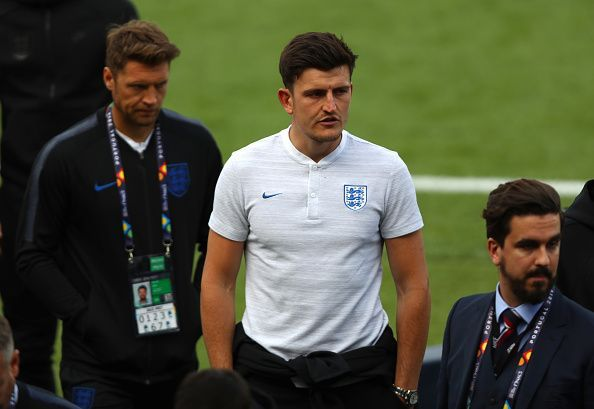 Harry Maguire has attracted interest from both Manchester clubs