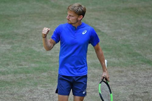 NOVENTI OPEN 2019 - David Goffin in action