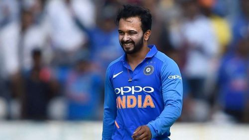 Will Kedar Jadhav be fully fit ahead of India's first game in World Cup 2019? (Image source: dnaindia.com)