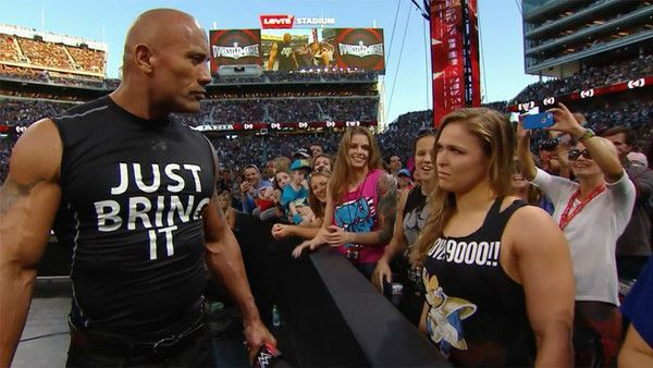 Being a WWE Superstar was something Ronda Rousey always wanted to do