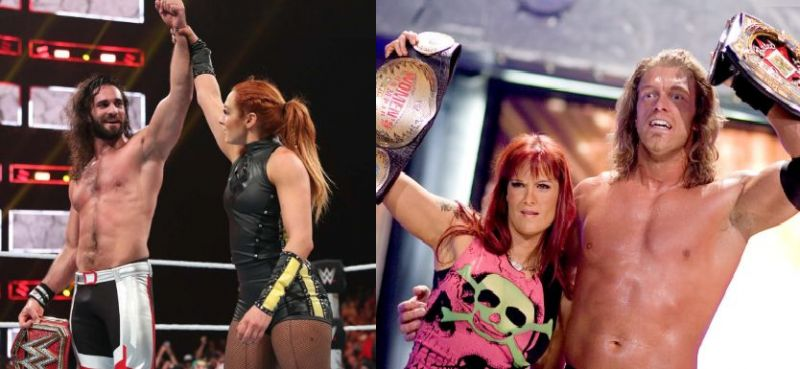 Seth Rollins and Becky Lynch are the newest power couple in WWE, whilst Edge and Lita dominated in 2006