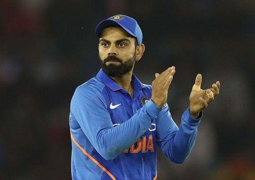 Virat Kohli, the current Indian skipper.