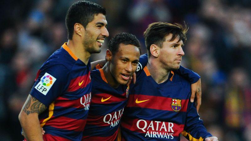 Luis Suarez Neymar Lionel Messi - cropped