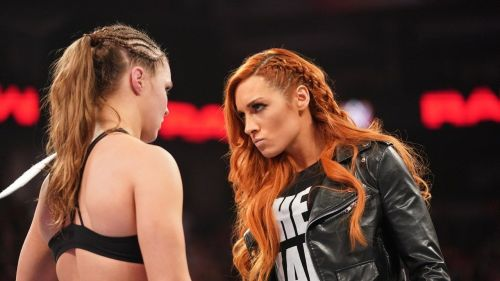 Becky and Ronda
