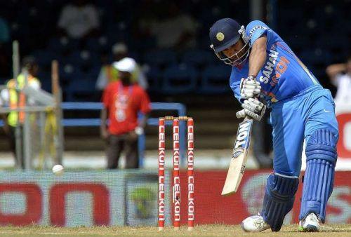 Rohit Sharma led India to victory