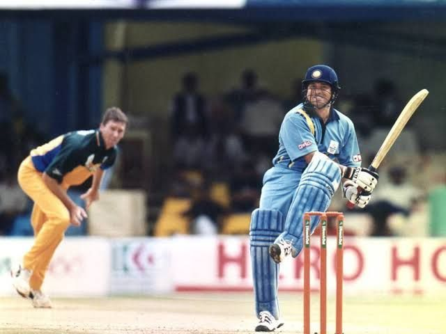 Sachin smashed McGrath during that famous game in Nairobi.
