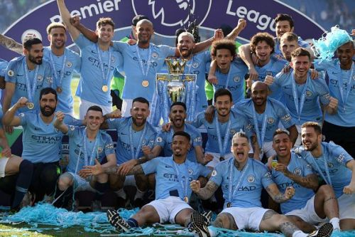 Manchester City are the defending Premier League champions