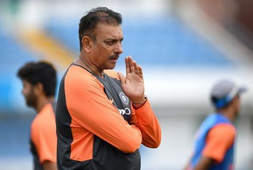 Ravi Shastri is the present coach of Indian Men's team