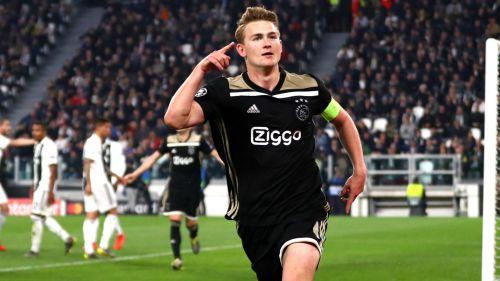 Ajax captain Matthijs de Ligt