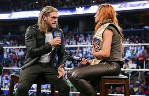 Edge and Becky