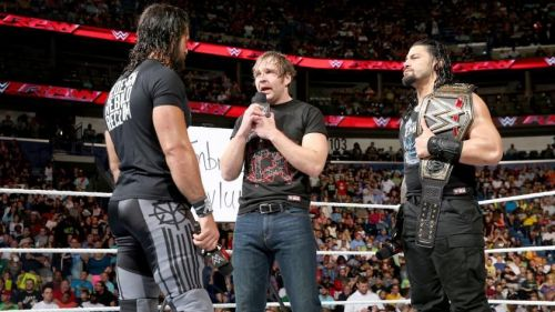 Ambrose was a through professional throughout this segment