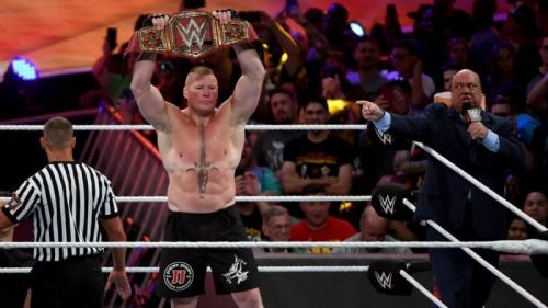 Could the night end with Brock Lesnar as Universal Champion?