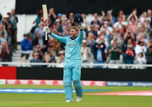 Joe Root has already scored a hundred in the World Cup