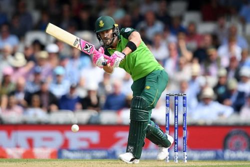 Faf is due for a big score