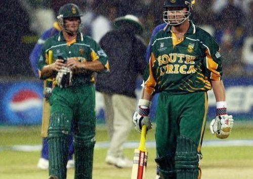 South Africa suffered one of the heartbreaking exits in 2003 WC