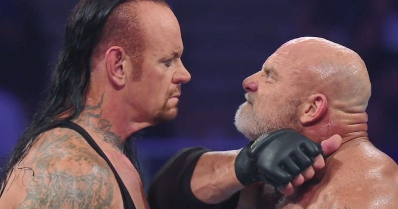 The Undertaker vs Goldberg match will go down as the worst of The Undertaker
