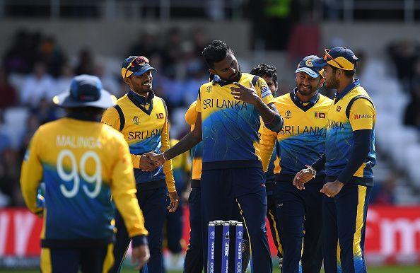 श्रीलंका की टीम