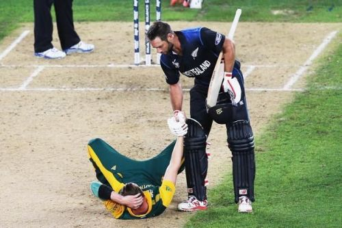 South Africa vs New Zeland 2015 WC Semi-finals