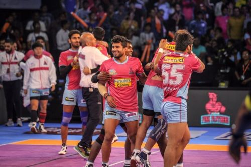 Jaipur Pink Panthers go into the competition with an impressive raiding department