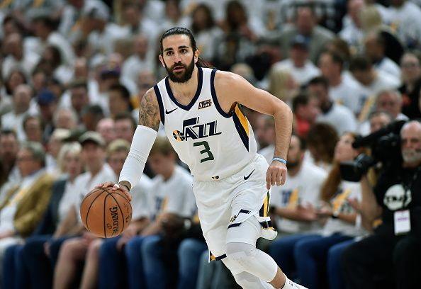 Ricky Rubio is among the players that could leave the Jazz this summer