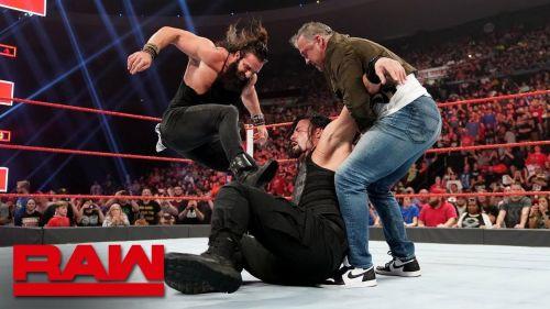 Shane McMahon and Elias