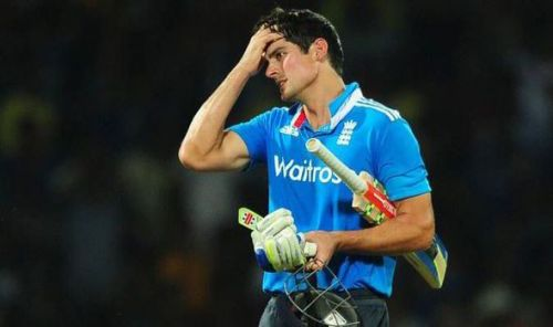 Former England captain Sir Alastair Cook never got a chance to feature in a World Cup