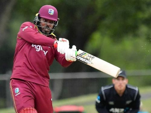 chris gayle to become only third player from west indies to score 1000 world cup runs