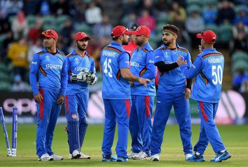 The Afghanistan team