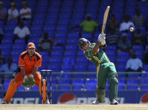 Herschelle Gibbs hit 6 sixes in an over in the 2007 World Cup, first-ever in One-day Internationals.