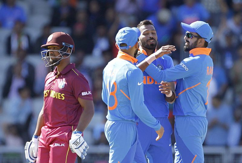 India won by 125 runs against Windies