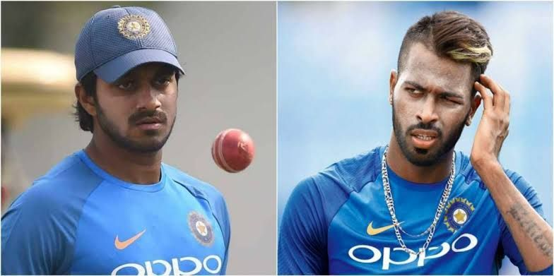 Shankar and Pandya picked 2 wickets apiece