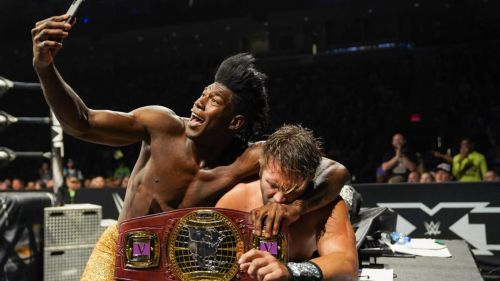 Tyler Breeze wrestled his best match in years against Velveteen Dream