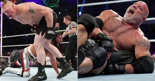 Could Goldberg be on WWE RAW tonight?