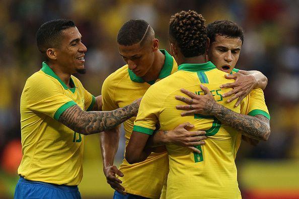 Brazil v Honduras