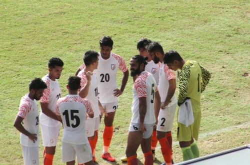 The Indian football team lost their King's Cup semi-final match against Curacao 3-1
