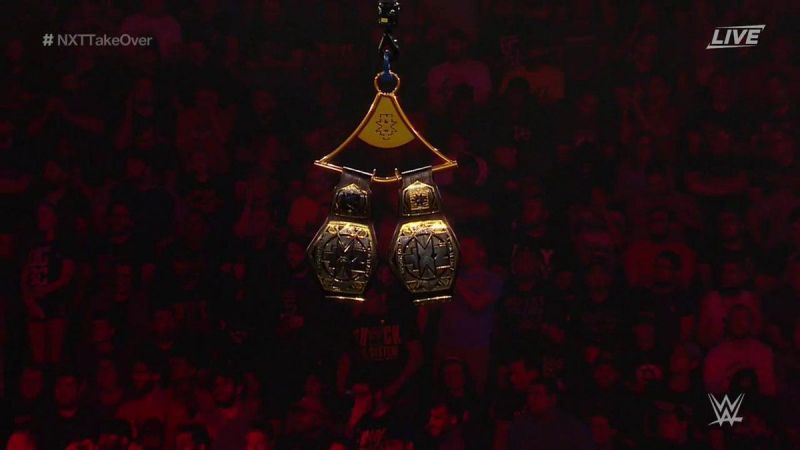 NXT Tag Team Championships: Fatal Fourway Tag Team Ladder Match