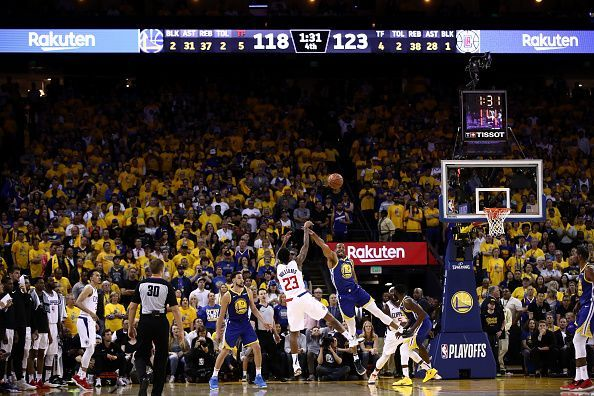 Williams excelled during the Clippers-Warriors series in the first-round of this year