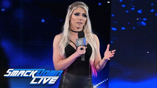 Alexa Bliss will show up on SmackDown Live