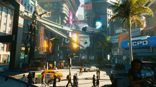 Image result for cyberpunk 2077 night city