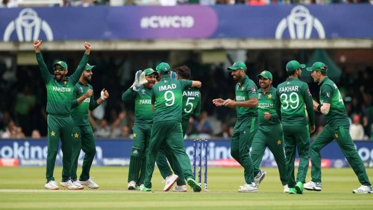 The Pakistan team