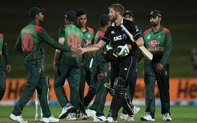 Bangladesh pushed New Zealand hard