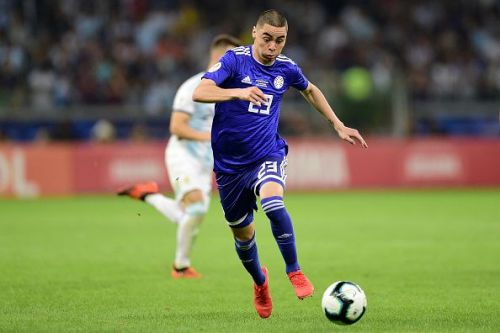 Almiron thoroughly impressed for Paraguay